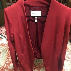BCBG Dark Red Blazer, Size S